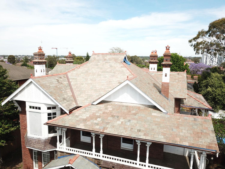 Slate Roof Restoration Sydney | Heritage Slate Roofing